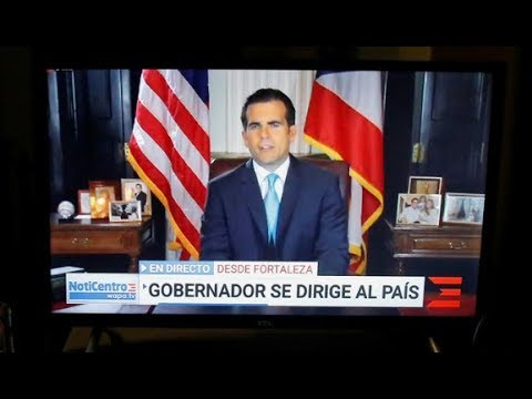 Disgraced! Puerto Rico's governor resigns