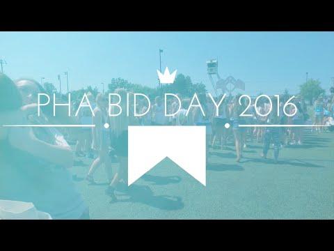 UNC Charlotte PHA Bid Day 2016