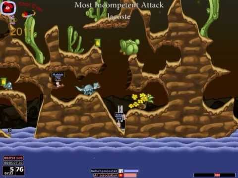 Worms Armageddon - The Worst Shot Ever 2011 |