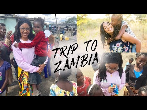 My Trip to Zambia, Africa | Travel with me to Zambia ♡ Travel Vlog