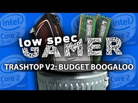 The €160 Gaming PC, The TrashTopv2! (Doom, Overwatch, Nier Automata, Fallout 4 and much more!)