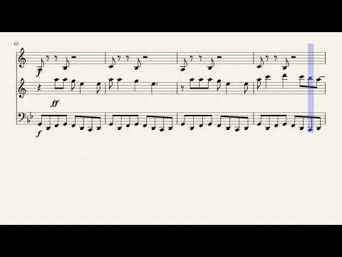 Billie Jean for Trumpet, Tenor Sax, and Trombone