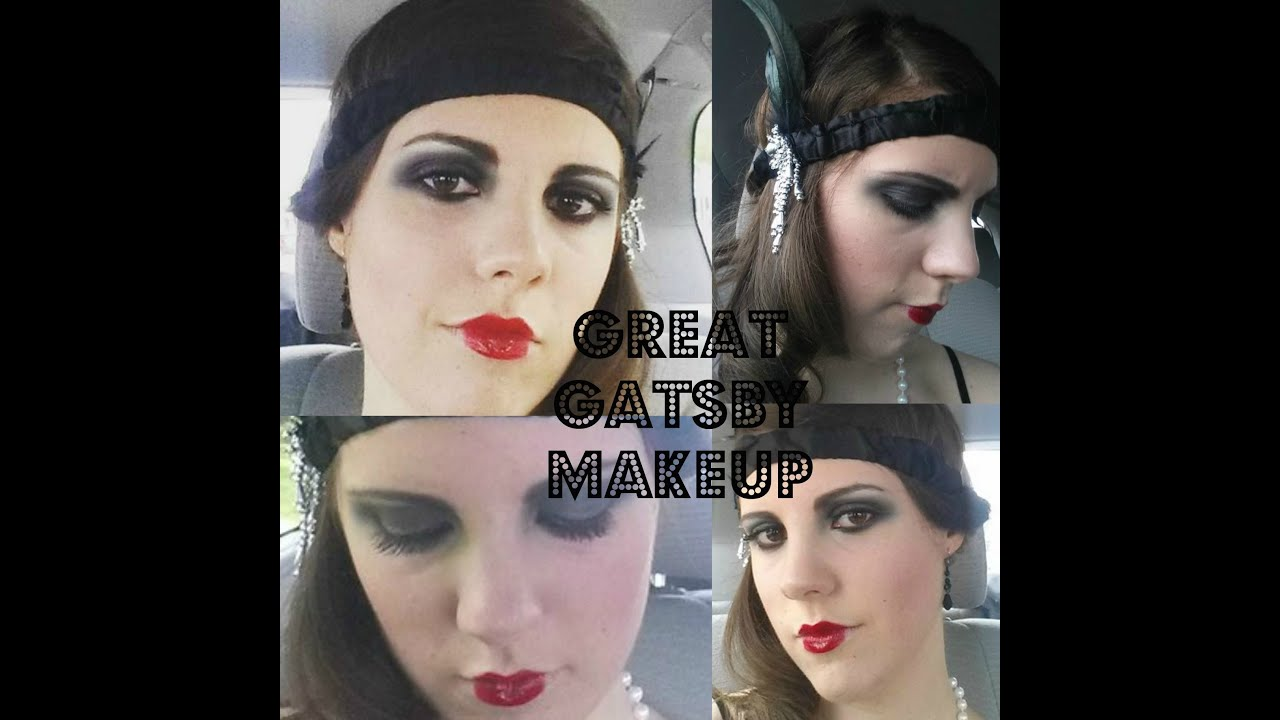 1920s great gatsby makeup tutorial youtube 1920s great gatsby makeup tutorial baditri Gallery