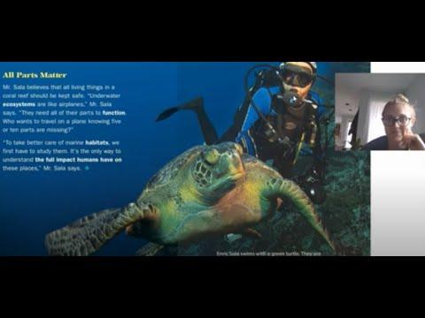 Enric Sala - Marine Ecologist Read Aloud