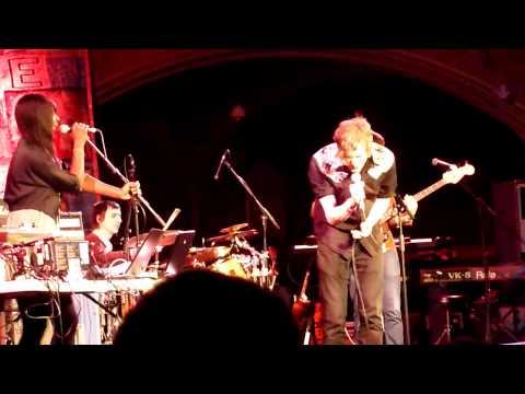 Silverclub performing for Kosovo , London, 7th April 2011