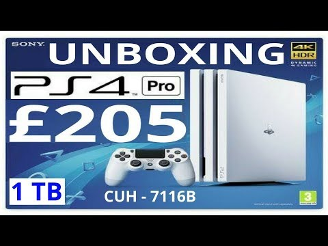 7116B White PS4 Pro Unboxing Review How To Get Cheap £5 Xbox One S & PS4 Games Boost Mode Explained