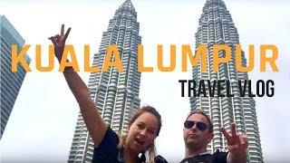 WELCOME to KUALA LUMPUR - TOUR of PETRONAS TOWERS, BATU CAVES, MERDEKA DAY 🇲🇾🐵