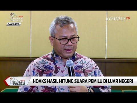 Bantah Hoaks, Ketua KPU: Penghitungan Suara Pemilu Dilakukan 17 April