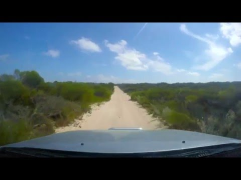 Driving the track to Steep Point (Shark Bay - WA)