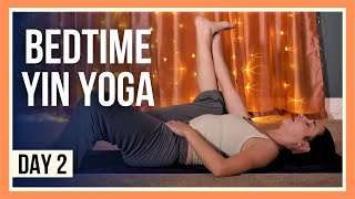 15 Min Yin Yoga Stretches – Day #2 (EVENING YOGA FOR BEGINNERS)