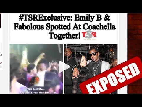 EMILY B - I'M DONE WITH YOU - EMILY B & FABOLOUS SPOTTED AT COACHELLA TOGETHER
