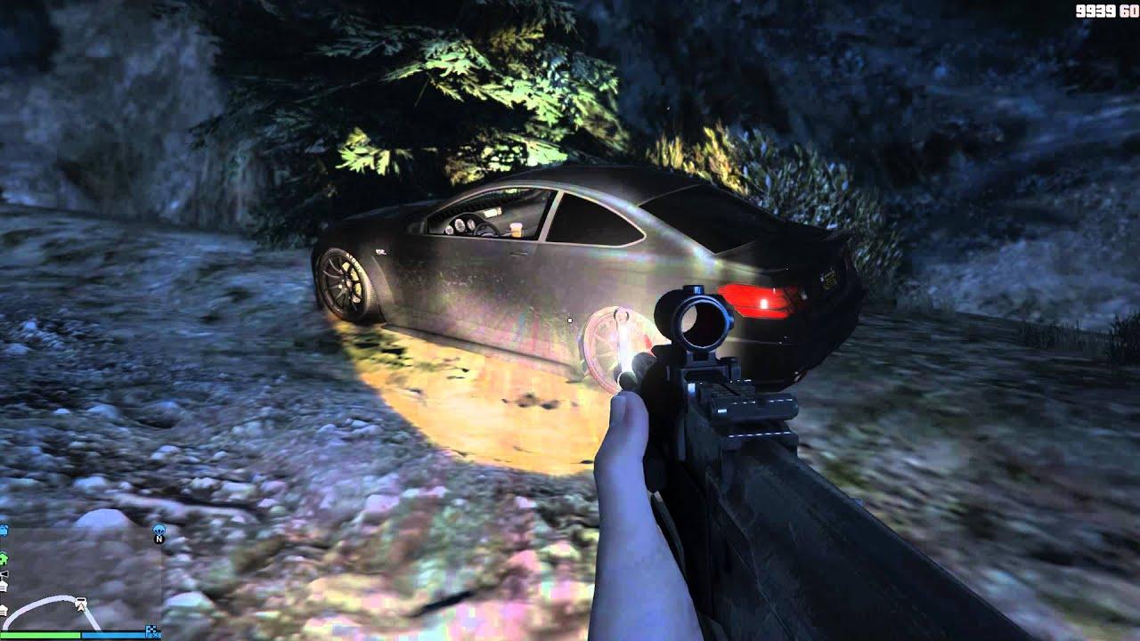 GTA V PC Ghost Girl Easter Egg - YouTube