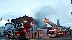 BG fire crews battle downtown blaze