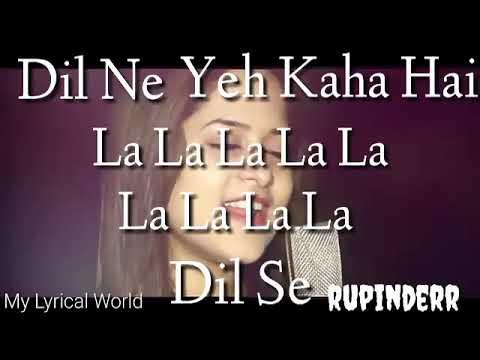 Dil Ne Yeh Kaha Hai Dil Se | Amrita Nayak | Hindi Whatsapp Status |My Lyrical World