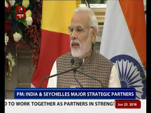 India, Seychelles ink six agreements in several fields