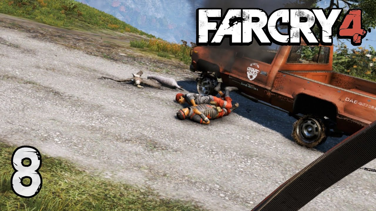 how to kill white rhino far cry 4