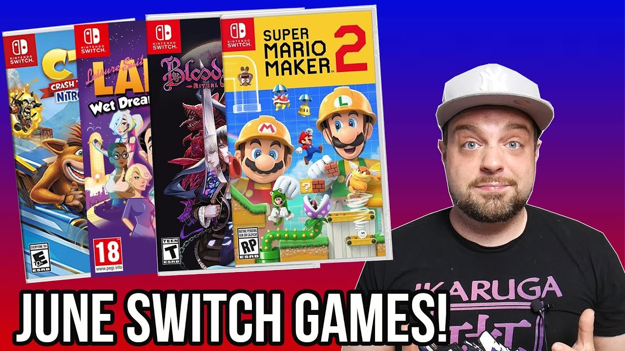 Best New Nintendo Switch Games Coming In June 2019 Youtube