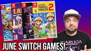 BEST NEW Nintendo Switch Games Coming in June 2019!
