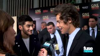 "One Direction Talk VMAs & Beatles Comparisons on ""This Is Us"" Red Carpet"