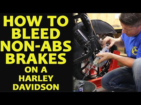 How to Easily Bleed NON-ABS Dual Disc Brakes Harley Davidson Touring, Softail, Dyna, Sportster