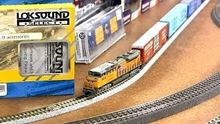 N scale with sound KATO EMD SD70 ACE DCC Lok sound Select micro
