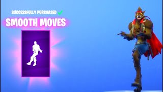 *NEW* Smooth Moves Emote is Amazing... Fortnite ITEM SHOP [October 1] New Emote + Rapscallion Skin