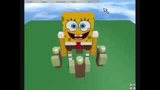 Muitas maneiras de matar Spongebob em ROBLOX