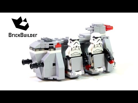 Lego Star Wars 75078 Imperial Troop Transport - Lego Speed Build