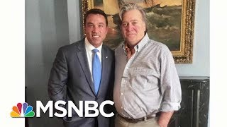 Steve Bannon Is Backing A Familiar Face In Primary | Morning Joe | MSNBC