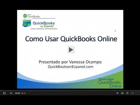 Como Usar QuickBooks Online – Seminario en Vivo