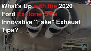 innovative fake exhaust tips