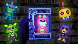 FNAF Blacklight Funko Pop Hunting!