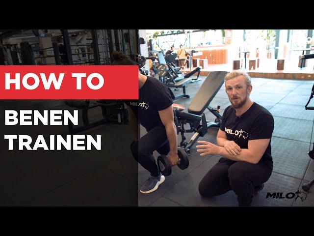 HOW TO | Hoe Train Je De Quadriceps Optimaal Voor Spiergroei?