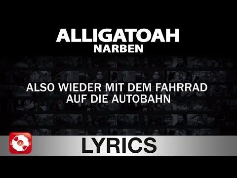 ALLIGATOAH - NARBEN - AGGROTV LYRICS KARAOKE (OFFICIAL VERSION)