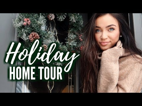 HOLIDAY HOME TOUR! + CHEF STEPH FT. GRINCH PASTA 🎄 HOLIDAY VLOG | Stephanie Ledda