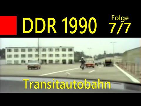 DDR 1990 Folge 7 (letzte Folge): Grenzübergang Dreilinden Bis Marienborn