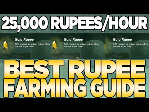 25,000 Rupees an Hour! Best Rupee Farming Method in Breath of the Wild