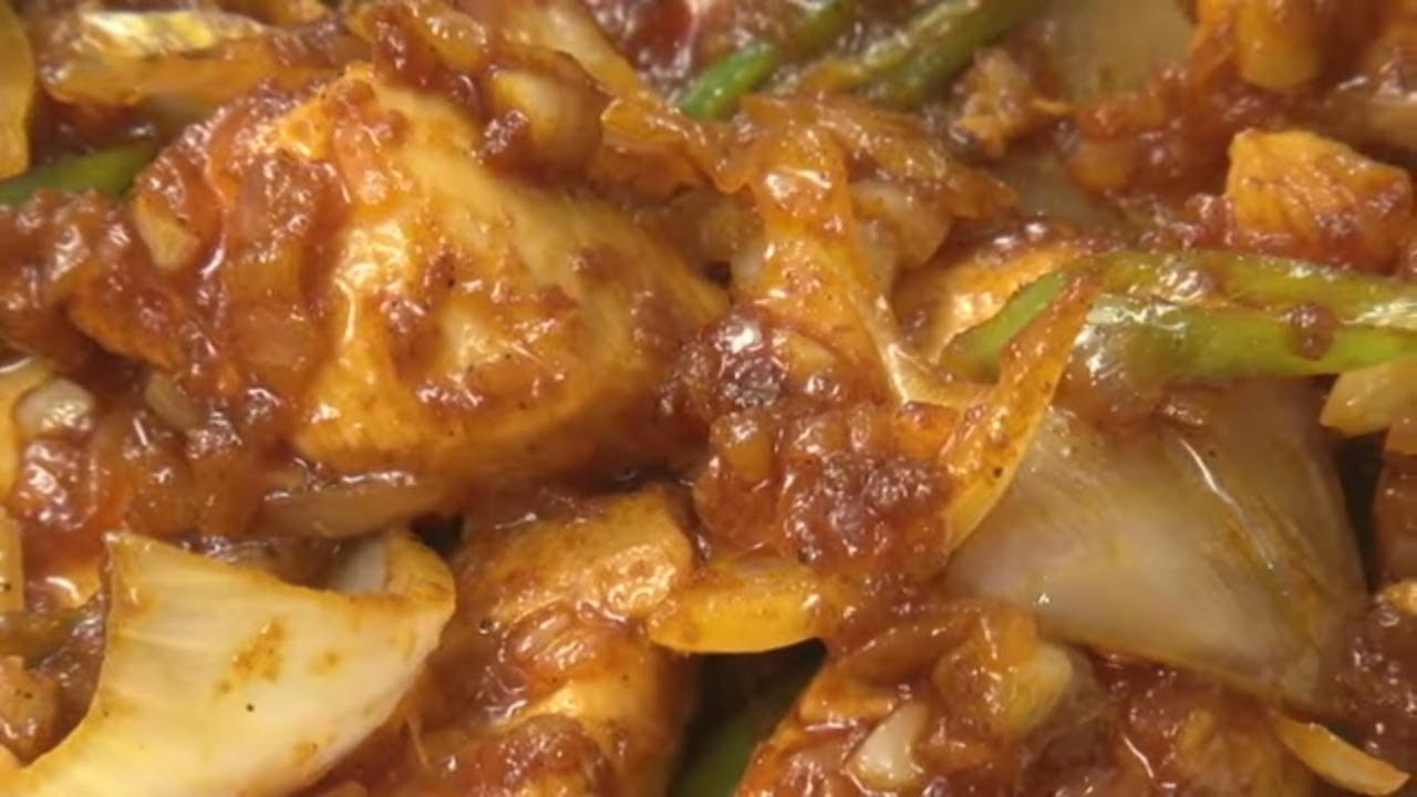 Chilli Chicken - How to make Chilli Chicken South Indian ... - photo#45