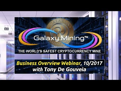 Galaxy Mining - Full Business Overview Webinar. Start Pure Bitcoin mining today!