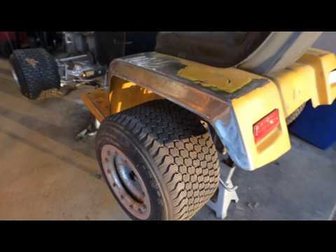 vtwin racing mower build 7