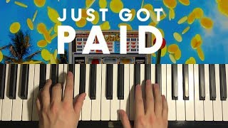 HOW TO PLAY - Sigala - Just Got Paid (Piano Tutorial Lesson)