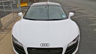 audi r8 v10 straight piped exhaust