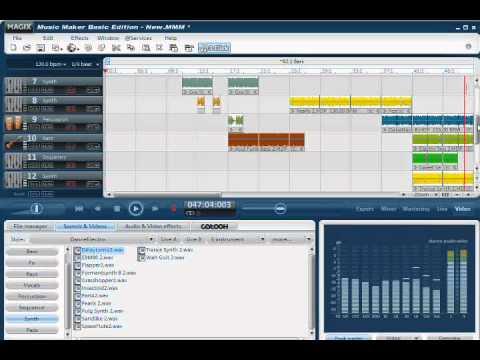 dance (magix music maker basic edition)