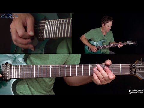 Joe Satriani - Surfing With The Alien Guitar Lesson (Part 2)