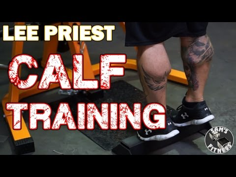 Lee Priest How To Train Calves For Bodybuilding