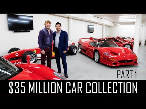 Ferrari Collector David Lee's $35million car collection! (Part 1)