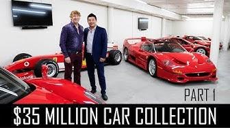 Ferrari Collector David Lee's $35million car collection! (Part 1)