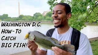 Teaching a NEW ANGLER How To Fish his Home Waters!!! (PERSONAL BEST BASS)
