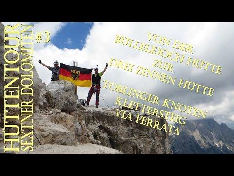 Büllelejoch Drei Zinnen Hütte Toblinger Knoten #3 (5) Hüttentour Sextner Dolomiten