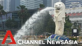 The symbol of Singapore: The Merlion